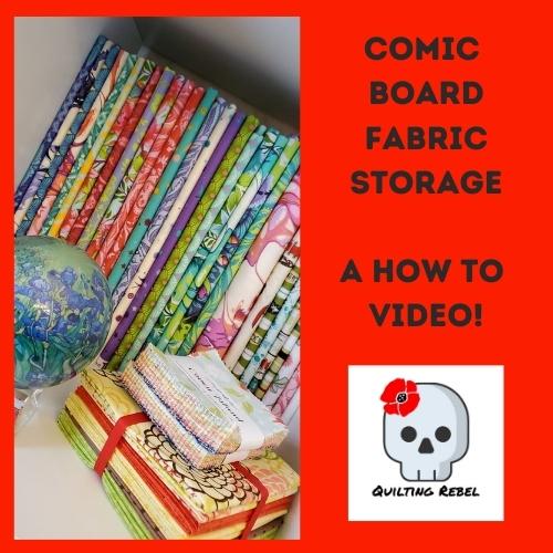 Comic Board fabric storage Video