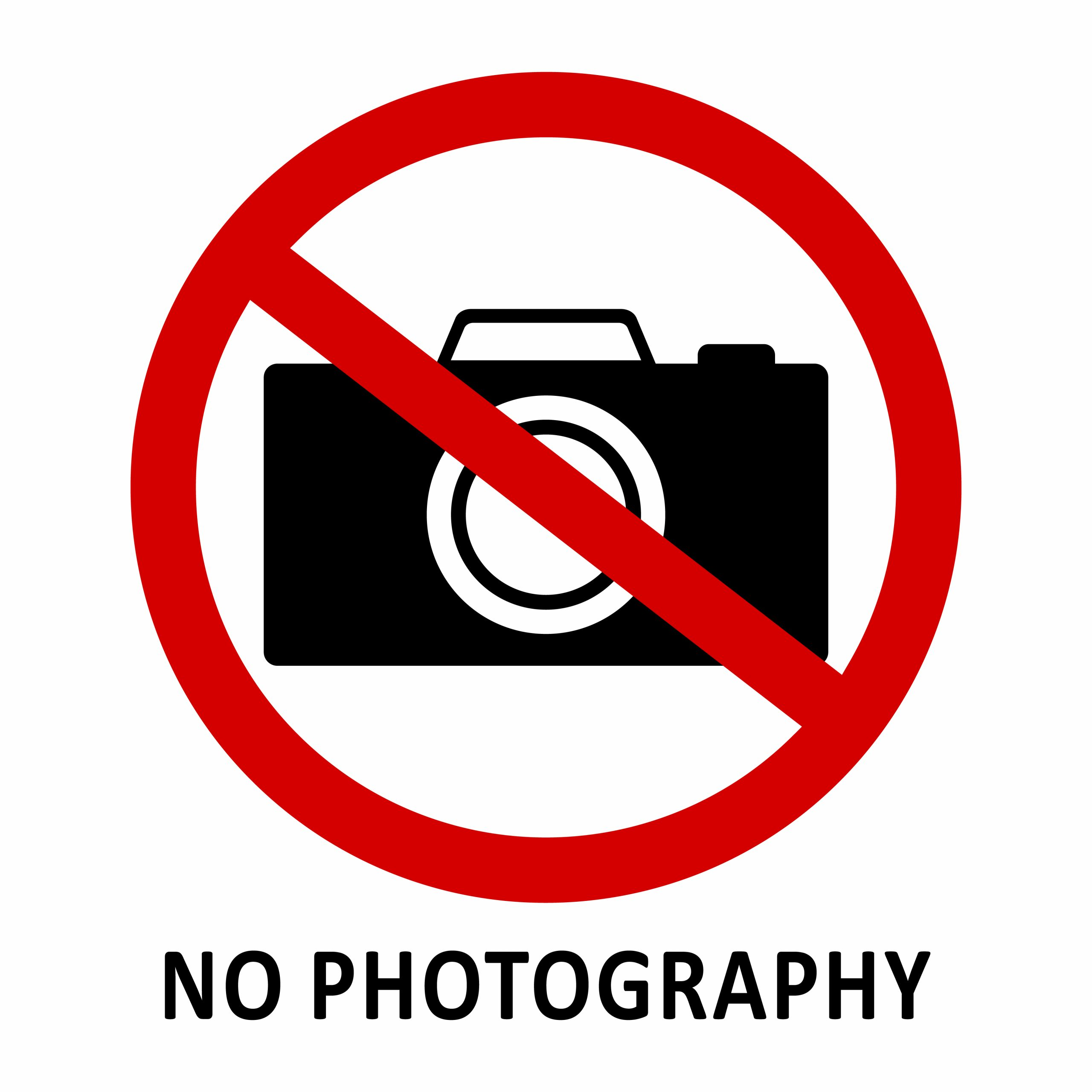 Quilt shops no photography rule