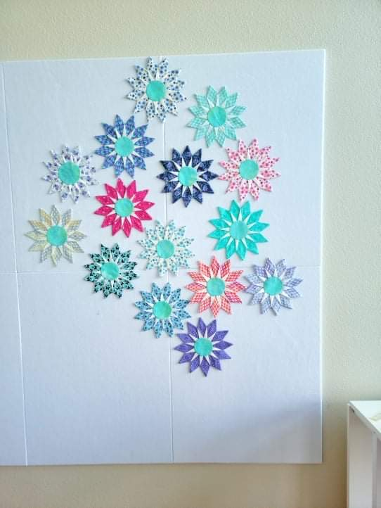 My New Quilt Design Wall