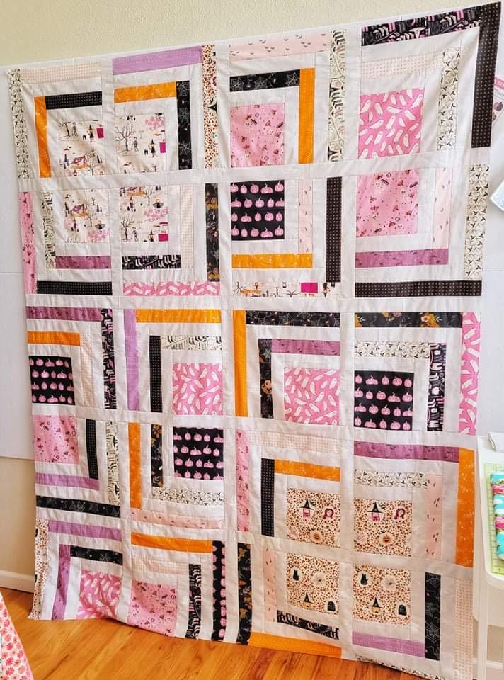 Yuki free quilt pattern